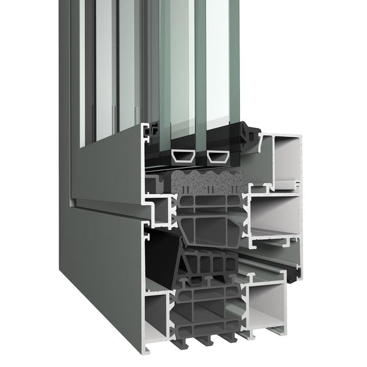 Kera Ramen en Deuren Aluminium Raamprofielen